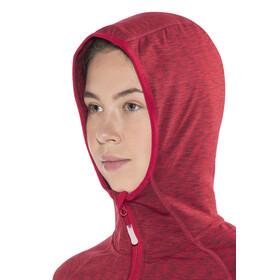 Meru Sitia Fleece Jacket Women red